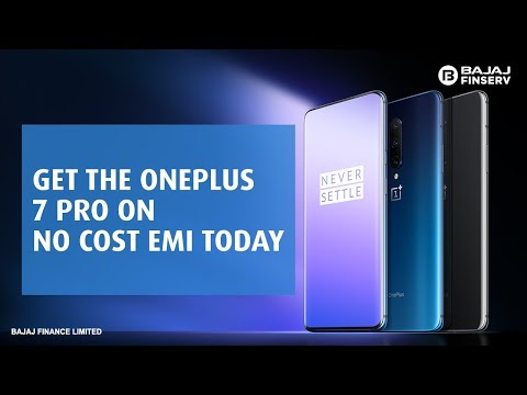 Buy the New OnePlus 7 Pro smartphone on No Cost EMI