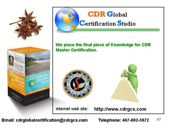 CDR GCS - Placing The Final Piece of The Puzzle