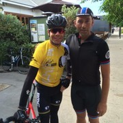 Meeting the Legend Cadel Evans