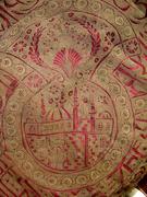 Turkish Gold Thread Ottoman Embroiderie: detail (mosque)