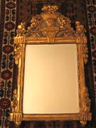 Elegant Gilt-wood Mirror of the Louis XVI Period