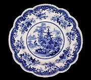 English Rogers Plate