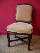 Finely Carved Chair Attributed to Cresson (1706-1761)