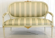 antique swedish Gustavian 2 seater sofa