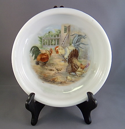 Rooster Baby Plate