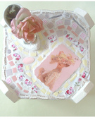 Shabby Romantic Cottage Mosaic Table