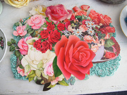 Yummy Handcut Paper Roses Stash!