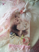 . SOLD!Marie Antoinette Art Collage Tag