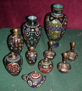 Cloisonne Vases Auctions end Today