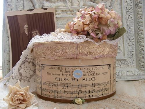 VINTAGE FAIRY WEDDING WISH BOX