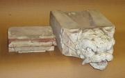 Carved Stone Gargoyle Roof Drain