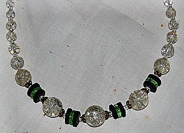 Necklace. Art Deco period (3) Detail.
