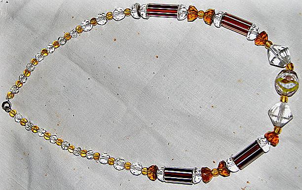 Necklace. Art Déco period
