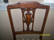 19c Mahogany Chair