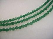 Emerald necklace- 3 strand