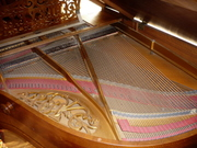 Piano PLEYEL. Model 3bis / Quart queue. Circa 1910