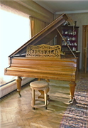 "PLEYEL ""Baby grand piano"" Model 3bis. 1910"