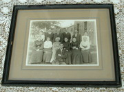 Vintage Framed Photograph Late 1800`s