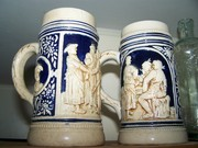 early German steins A.M.