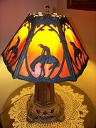 Sunset Indian Lamp