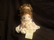 Brand New Collectible Precious Moments Friendship Doll Jackie Plush