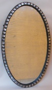 997. Rare Irish Oval Wall Mirror 19th Century