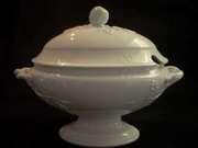White Ironstone China Soup Tureen