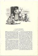 "ORIGINAL 1896 ARTICLE HARPERS MAGAZINE 1896 ""A BLACK SETTLEMENT"