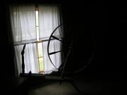 Antique Spinning Wheel in Levi Shinn House, Shinnston, WV