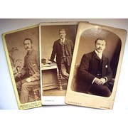 CDV Photos - Men in Moustaches