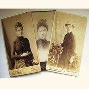 CDV Photos - Victorian Ladies