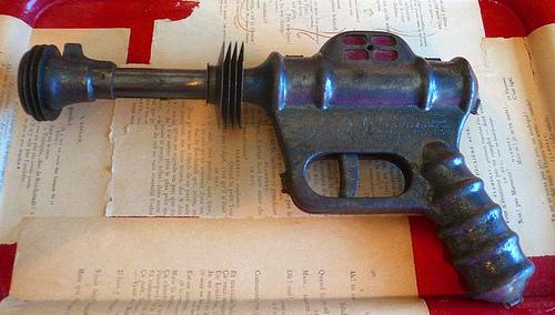 Vintage Toy Buck Rogers Atomic Pistol