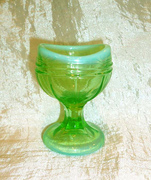 Vintage Vaseline Glass Eye Wash Cup