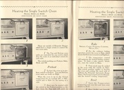 1930s Hotpoint Stove Manual Recipe Booklet