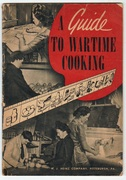 1940s WWII Recipe Booklet