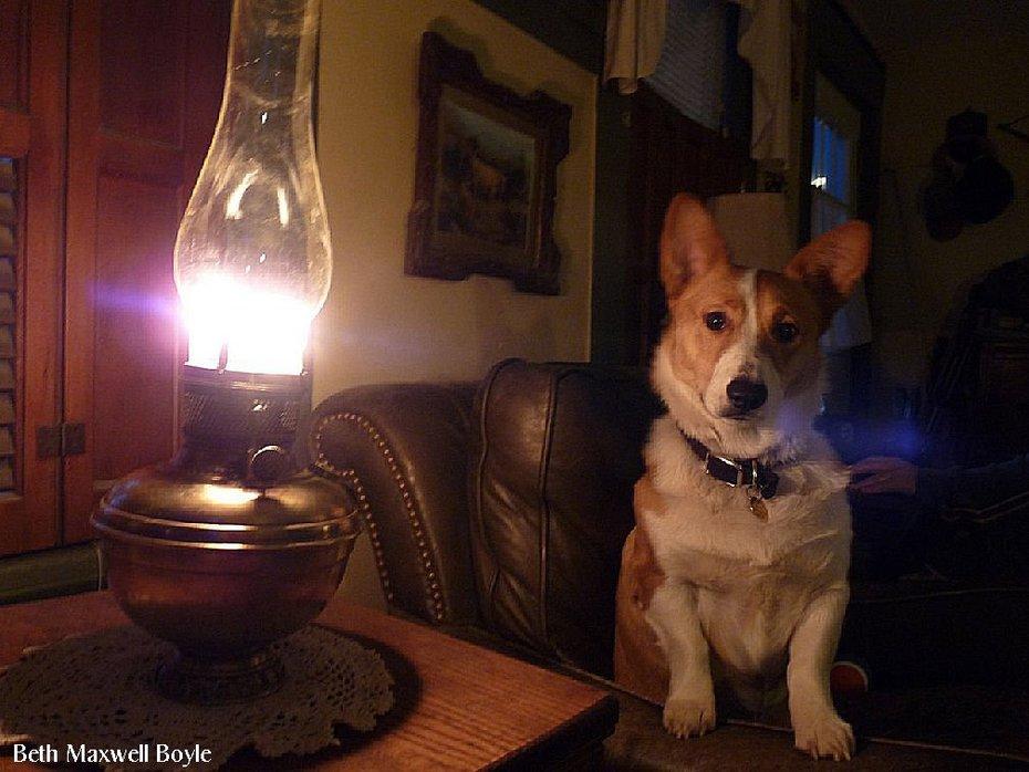 Miller Center Draft Lamp with Jack