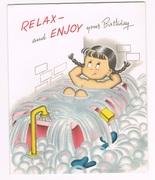 1950s Susie-Q Birthday Card