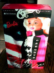 Barbie as George