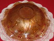 Jeannette Iris & Herringbone Dish