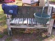 Garden bench..$40