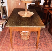 Painted Farm Table with drawer