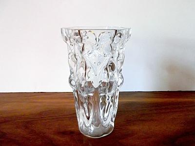 Vintage Orrefors Art Glass Vase, Sven Palmquist