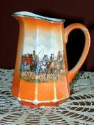 orange horse pitcher