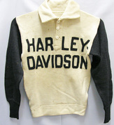 1930s Harley race sweater