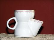 old shaving mug