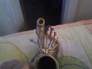 Grecian foot 12