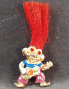 Guitar Playing Troll Necklace - L.Razza