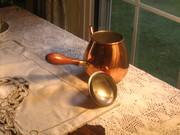 Handled Copper tea Kettle