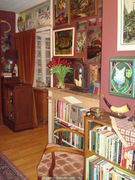 A corner of the Living Room filled with Antiques