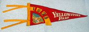 Old Vintage Yellowstone Park Pennant